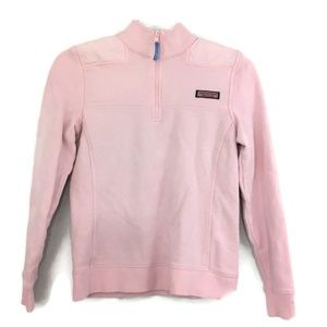 Vineyard Vines Light Pink 1/4 Zip Shep Shirt XXS